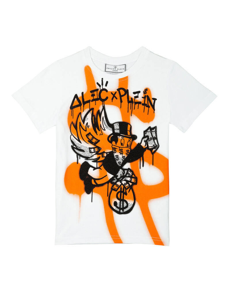 """T-shirt Round Neck SS """"Painted"""""""