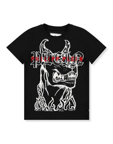 T-shirt Round Neck SS Gothic Plein