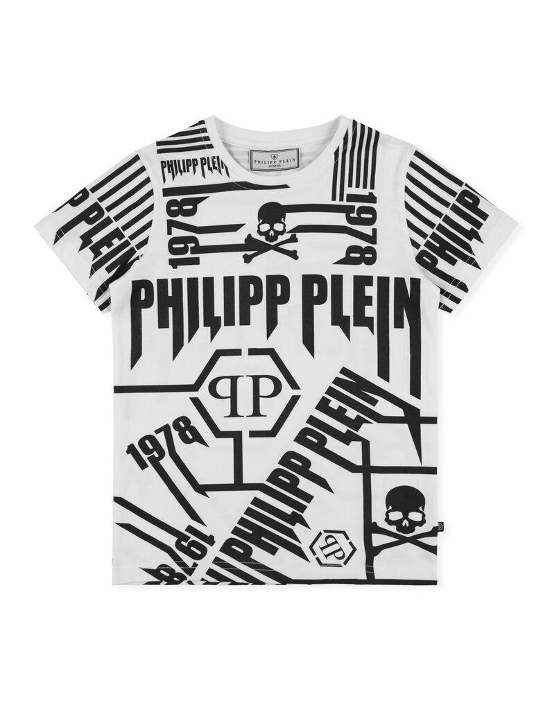 0c70572c687 T-shirt Round Neck SS Rock PP | Philipp Plein Junior