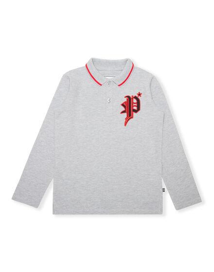 Polo shirt LS Gothic Plein