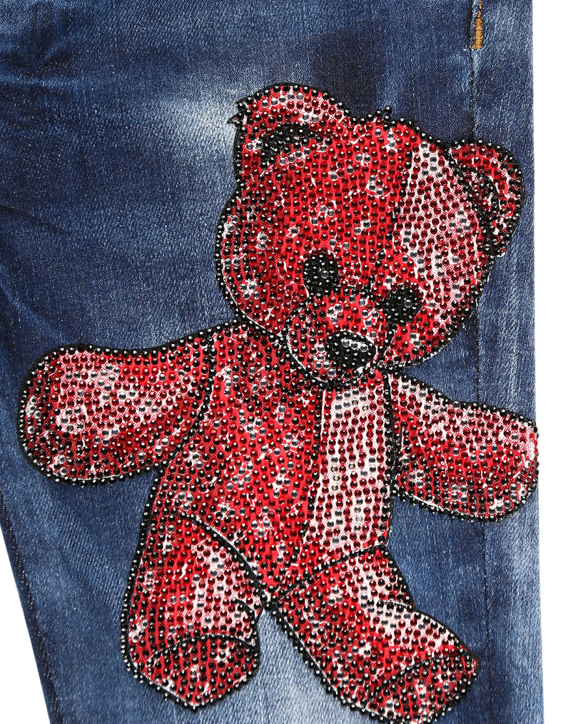 Slim Fit Teddy Bear