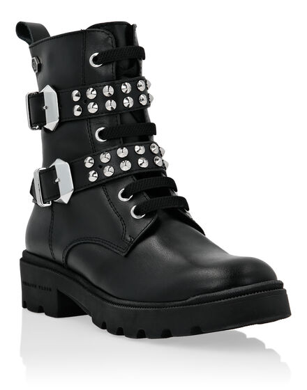 Boots Low Flat Studs