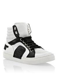 white / black