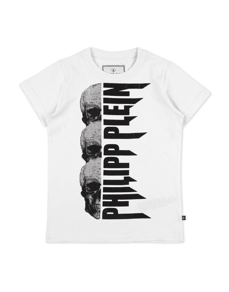 e303f7782d3e T-shirt Round Neck SS Rock PP   Philipp Plein Junior