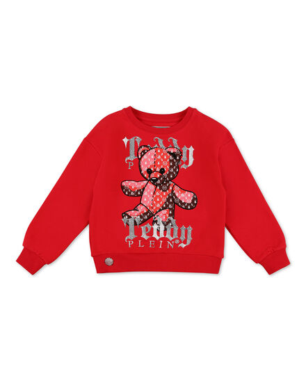 Sweatshirt LS Teddy Bear