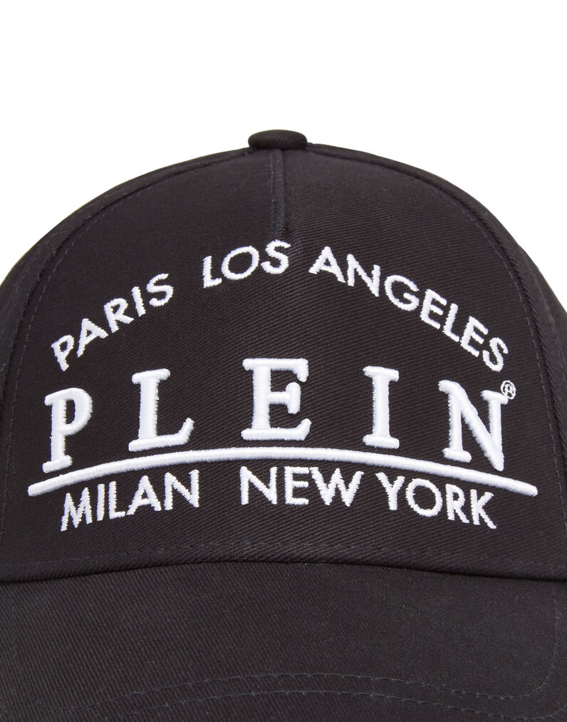 "Hat ""Hudson"" Graphic Plein"