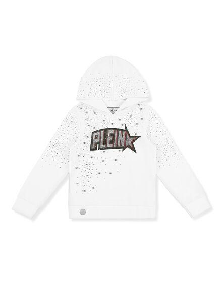 Hoodie sweatshirt Plein Star