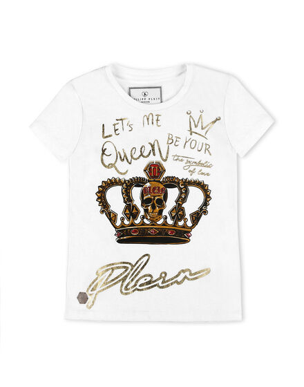 T-shirt Round Neck SS King Plein