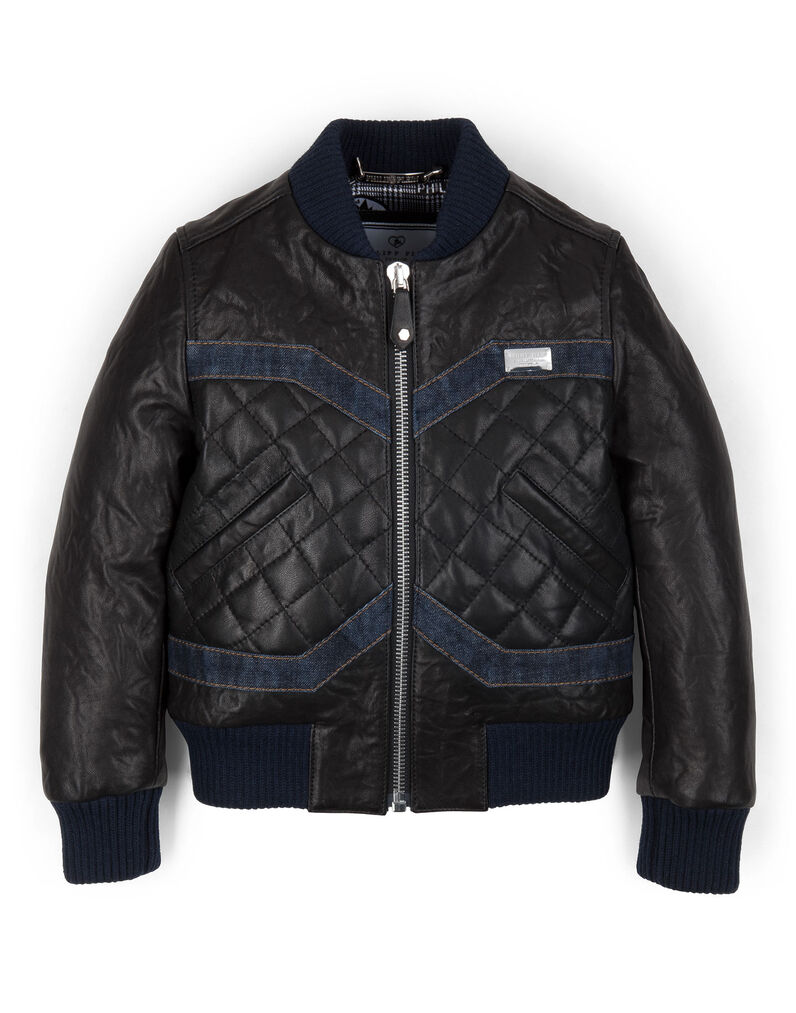 "leather jacket ""baby biker"""