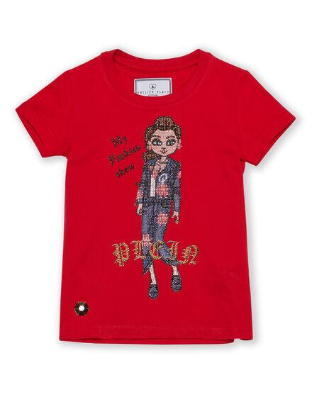 T-shirt Round Neck SS Fashionable