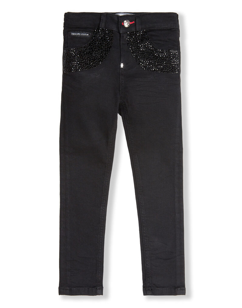 Denim Trousers Crystal