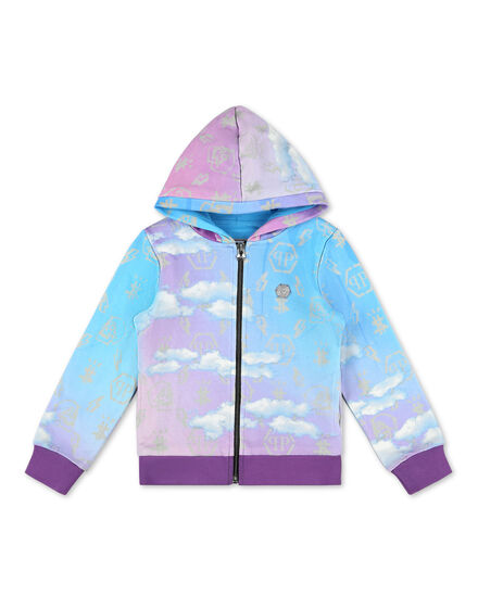 Hoodie Sweatjacket no stones Clouds