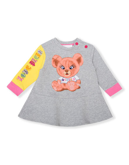 Jogging Day Dress Teddy Bear