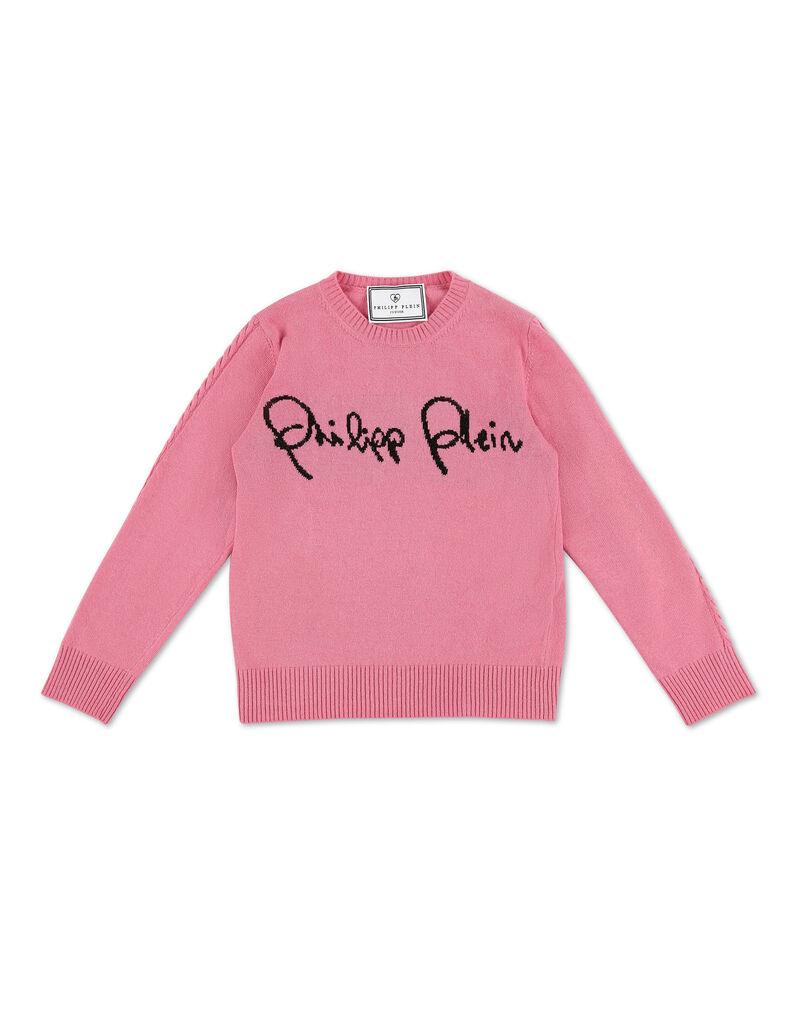 Pullover Round Neck LS Signature