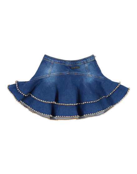 Mini Skirt Crystal