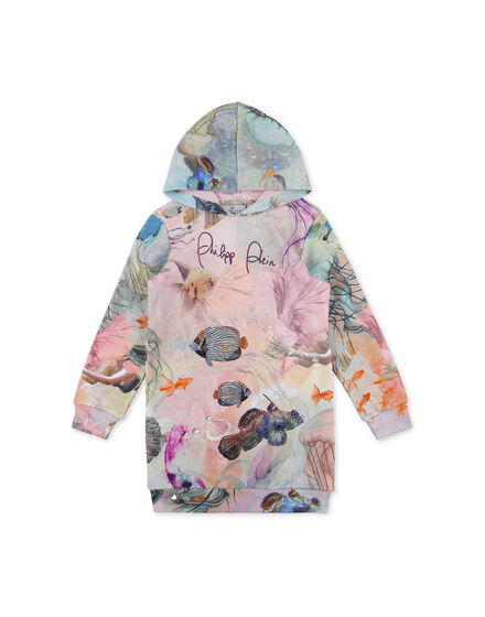 Hoodie Sweatjacket Underwater