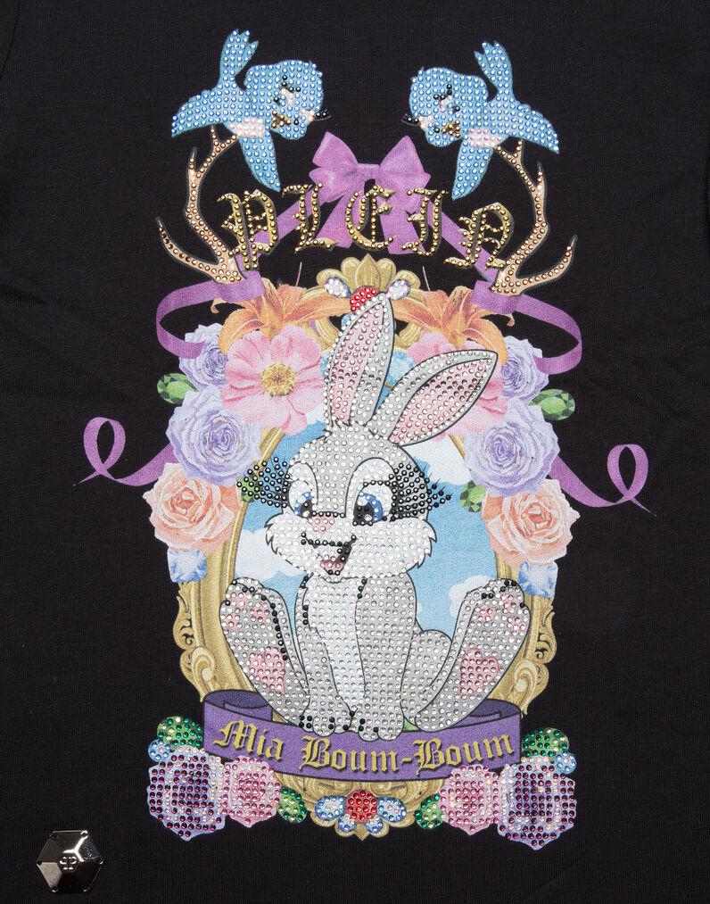 "T-shirt Round Neck SS ""Love On The Brain"""