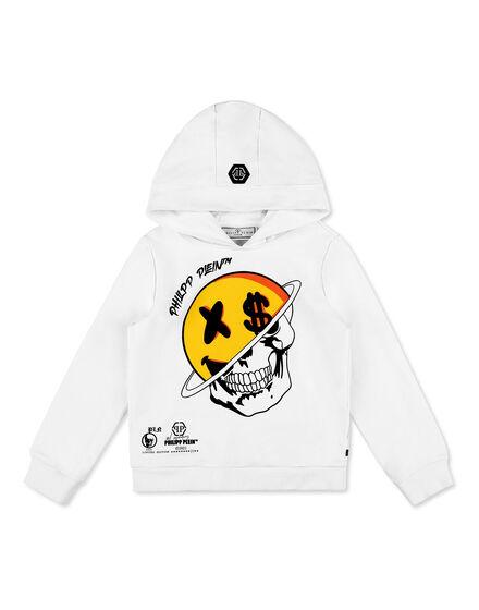 Hoodie sweatshirt Smile