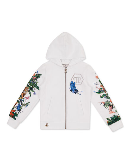 Hoodie Sweatjacket Jungle