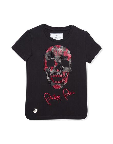 T-shirt Round Neck SS Nat