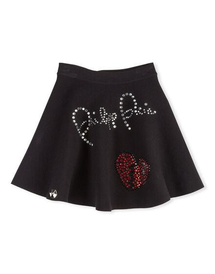 Knit Short Skirt Desy Long