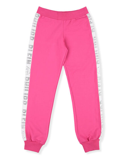 Jogging Trousers Crystal Plein