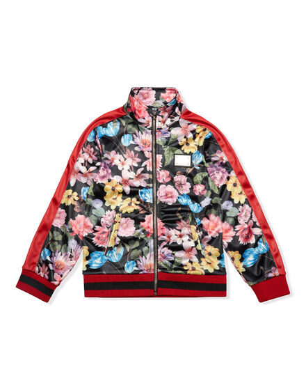 Jogging Jacket Sunset Flower