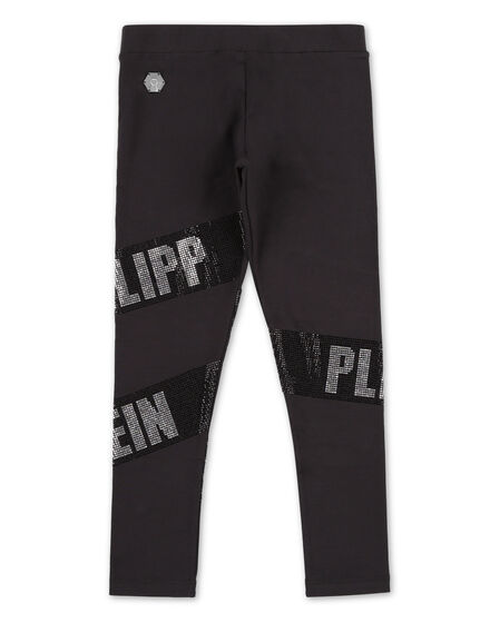 Jogging Leggings Crystal Plein
