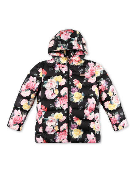 Nylon Jacket Flowers