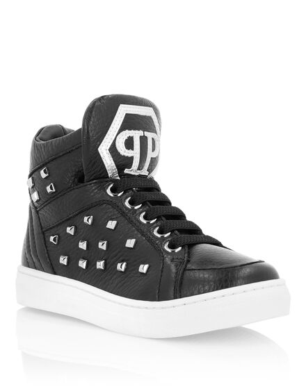Hi-Top Sneakers Simon Studs