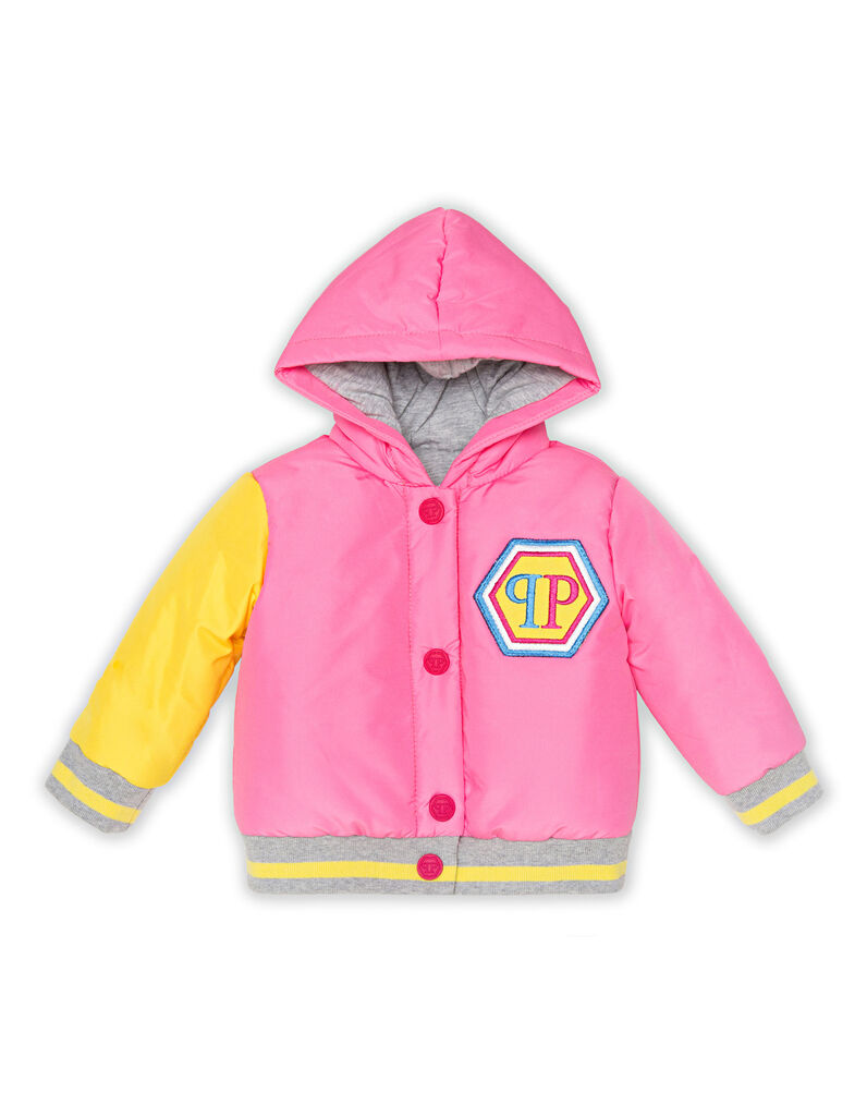Nylon Jacket Teddy Bear