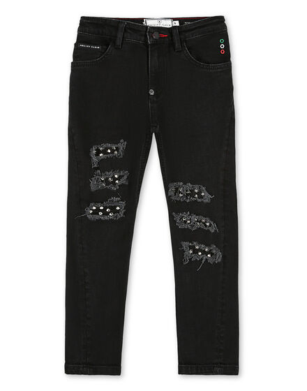 Denim Trousers Studs