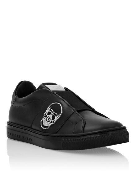 Hi-Top Sneakers Skull and Plein