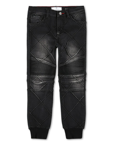 Denim Trousers Philipp Plein TM