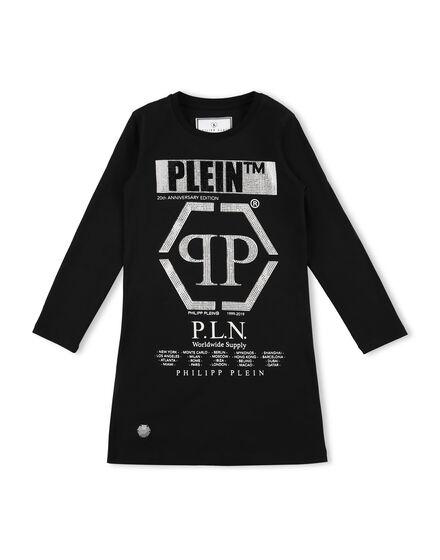 T-Shirt Short Dresses LS P.L.N.