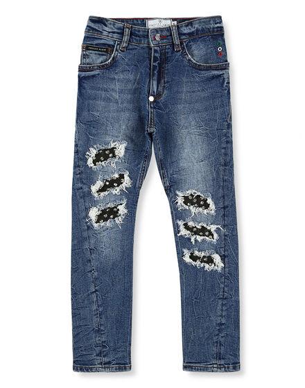 Denim Trousers Studs