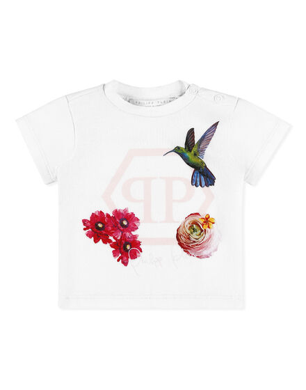 T-shirt Round Neck SS Flowers