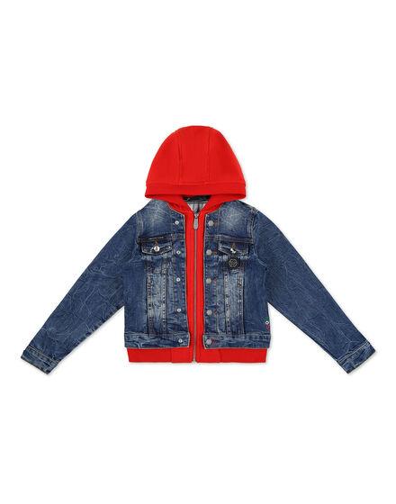 Denim Jacket Teddy Bear