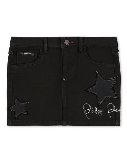Denim Skirt Signature