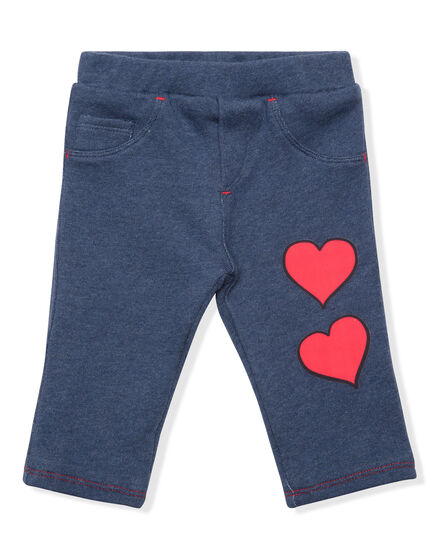 Knit Jogging Trousers Hearts