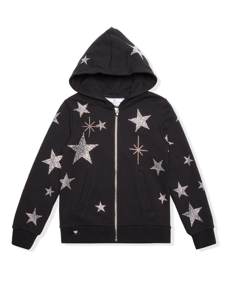 "Hoodie Sweatjacket ""Plein Star"""