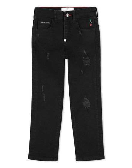 Denim Trousers Signature