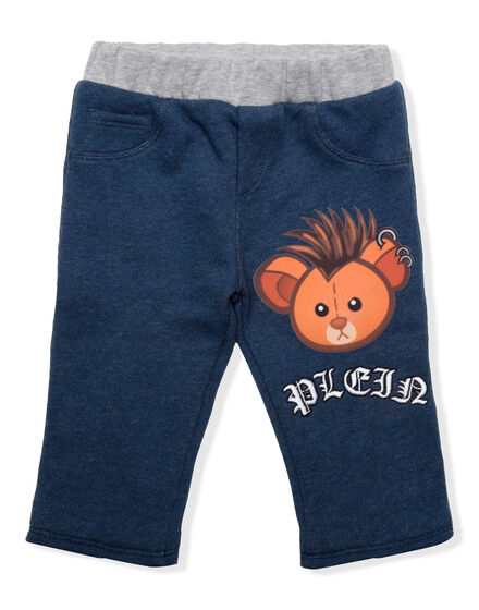 Knit Jogging Trousers Teddy