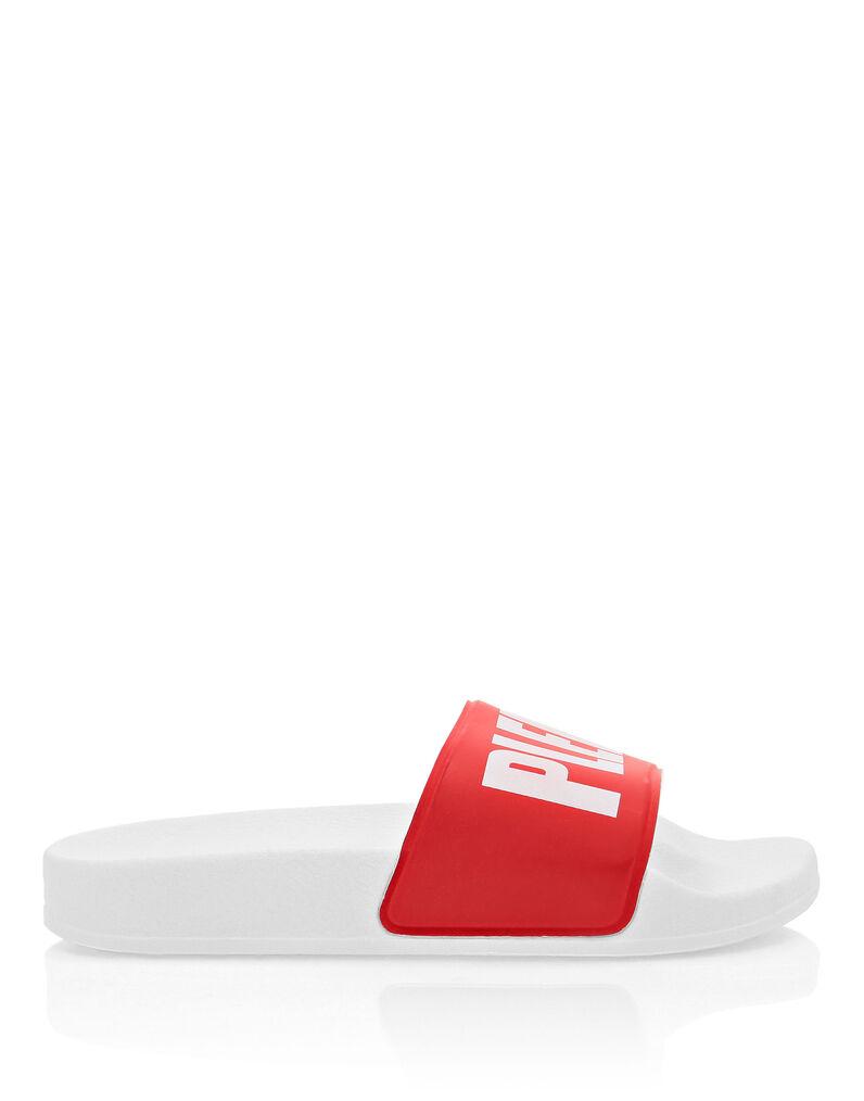 Flat gummy sandals Original
