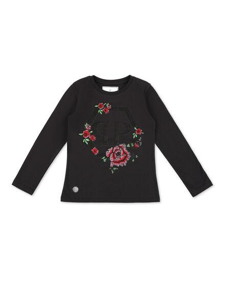 T-Shirt Short Dresses Flowers