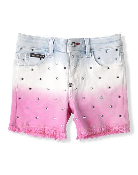 Hot pants Tie dye