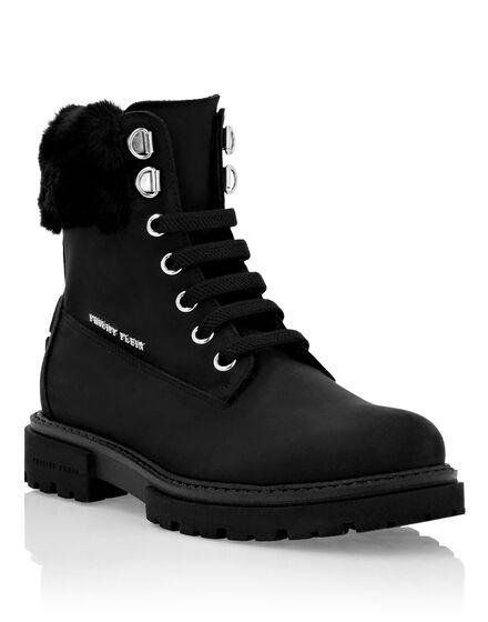 Boots Mid Flat Hexagon