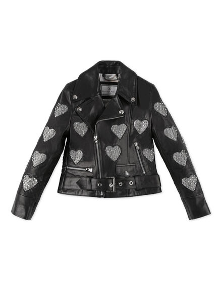 Leather Biker Crystal