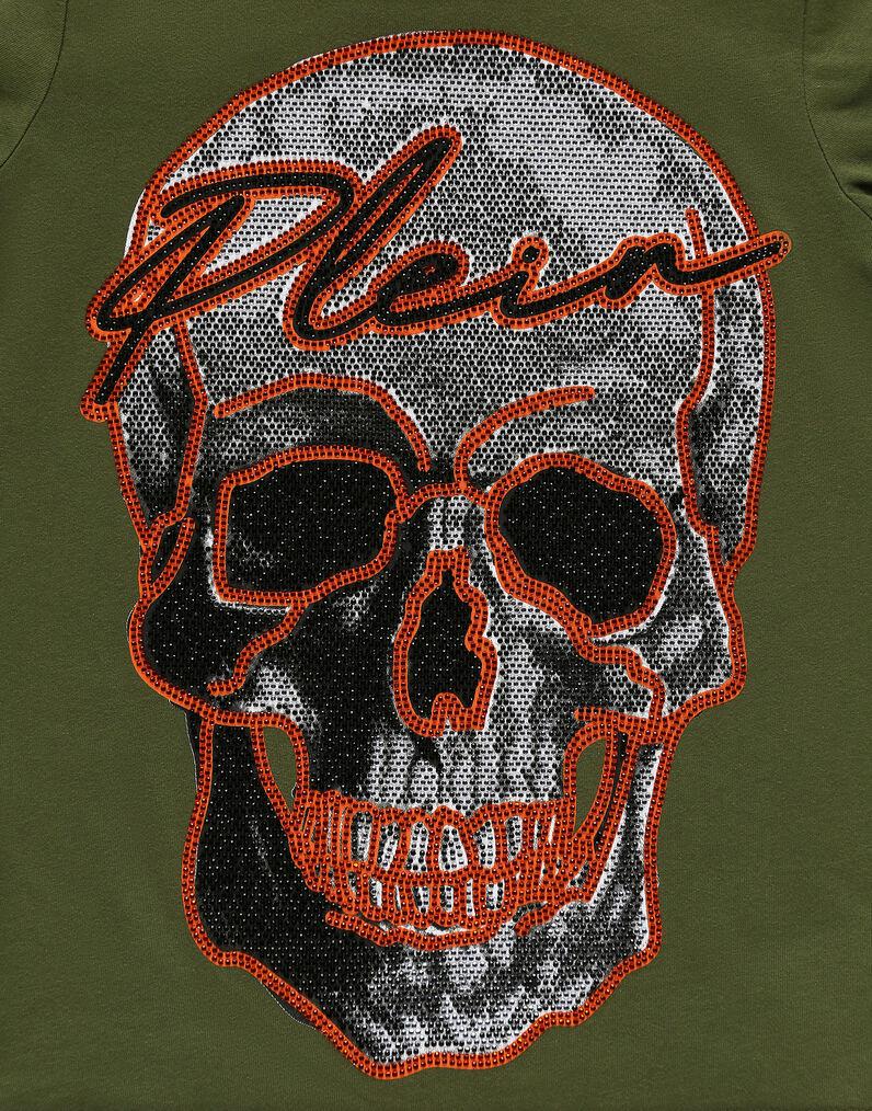 T-shirt Round Neck SS Skull and Plein