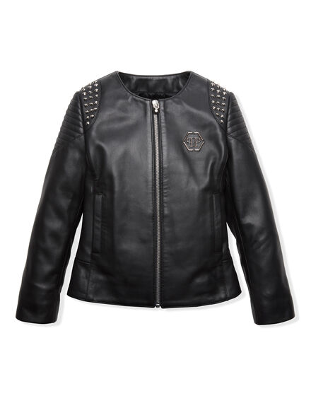 Leather Bolero Christal